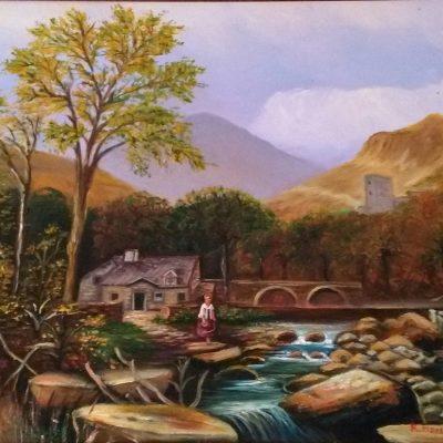 Paisaje con río
