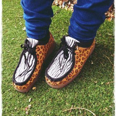 Zapatos pintados a mano